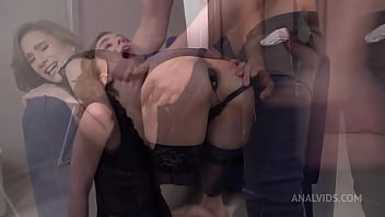 Anastasia Mistress Hard Fucked in The Ass   Spanking   Slapping   Anal Squirt   Big Anal Gape VK035