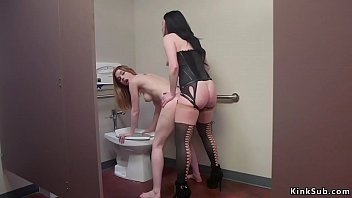 Dark avenger autor on bdsm libray Brunette boss anal fucks blonde in rest room