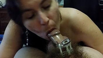 Chastity Blowjob
