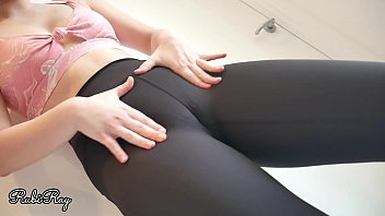 Horny Step Sis Wants My Cum in Panties and Pull Up Her Yoga Pants