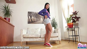OnlyTeenBJ Cute & young russian teen on her knees to suck!