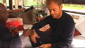 Guests on a Rocco Siffredi reception are involved in an orgy