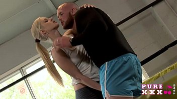 Boys bikini boxing Pure xxx films horny teen fucks the boxing instructor