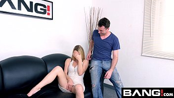 BANG Casting: Blonde And Sexy Molly Mae Gives A Good Titty Fuck