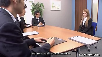 Sexual harrasment cary yales Mariru lasts sexual harrasment so that she gets the job