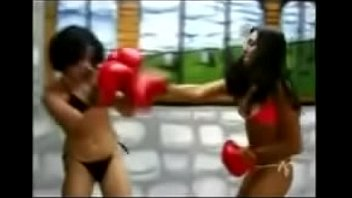 boxing in bikinis 2 matches