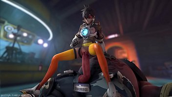 Doll inflatable picture sex - Overwatch - tracer x roadhog animated, sound guilty
