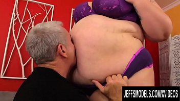 Fat Ass BabyDollBBW Surrenders Her Big Perfect Body to a Perverted Old Man