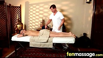Sexy Masseuse Helps with Happy Ending 14