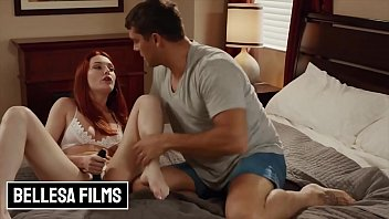 Sexy Redhead (Lacy Lennon) Takes A Big Load After A Nice Fuck - Bellesa