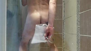 double insertions enema shower