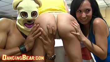 DANCING BEAR Gr oup Of Horny Hoes Taking Dick  es Taking Dick From Male Strippe