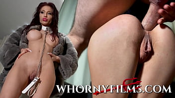 Submissive Babe On A Leash Getting Ass Pounded And Face Fucked Hard -WHORNYFILMS.COM