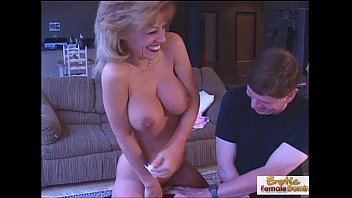 Easy busty - What a busty mature cowgirl