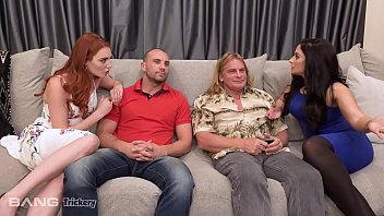 Hollywood wife swapping Trickery - bored wifes sheena ryder and lacy lennon swap husbands