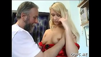 Admirable blonde Angela gets licked and teased