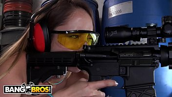 BANGBROS - PAWG Remy La Croix Plays With Guns And Sucks 2 Cocks