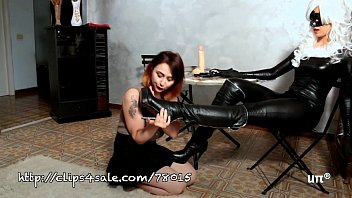 the Black Cat dominatrix