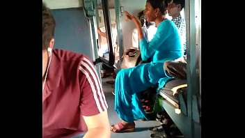 Indian porn in train by aunty