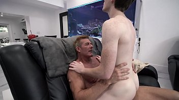 Twink and young boy asses Familydick - stepdad pounds his boys asshole during a nostalgic bonding moment