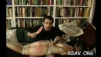 Angel gets spanked roughly