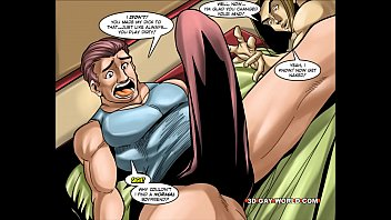 Fetish gay male toons - Flamboyant four gay superhero animated comics