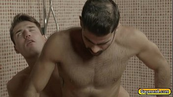 Gay college shower Tonys dick suck by theo and he fucks hot