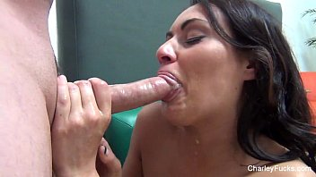 Charley Chase Sloppy BJ With Wesson