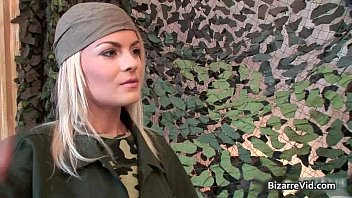 Army sexy - Two hot sexy horny army slut gets