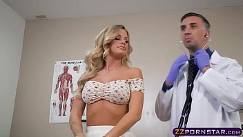 Going for health checkup ends in a fuck for this hot blonde