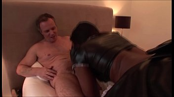 Ebony maid gets fucked in tight asshole for cash from hotel guest