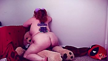 Pudgy Little Riding her Teddys big cock sucking pacifier -SHORT VERSION-