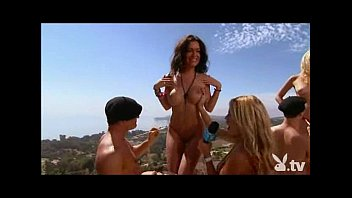 Playboy girl holly madison naked Insane bikini rock party
