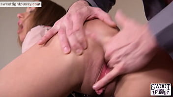 Teen Babe's Interview Goes into a Hardcore Anal Threesome.mp4