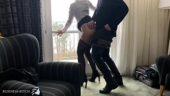 SEXY ASSISTANT GETS A BUSINESS MEETING BREAK FUCK AT HOTEL ROOM