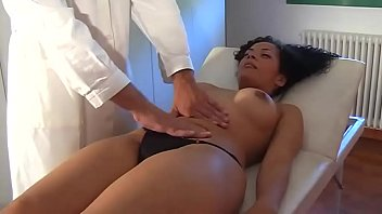 nice brunette fucked by a doctor