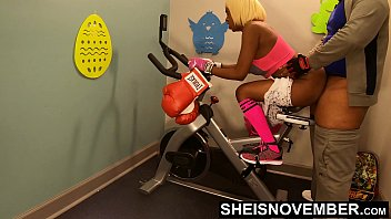 8683 4k Rough Painful Anal For Cute Black Spinner With Big Ass , Young Babe Msnovember Fucked By Old Coach Doggystyle In Public Gym Fucking Hard On Exercise Bike To Train Her Asshole HD Sheisnovember preview