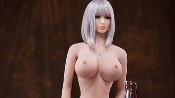 Huge titted MILF sex doll with big ass for anal