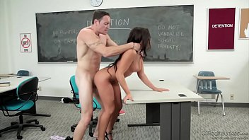 Morgan Lee Rough Banged In Classroom