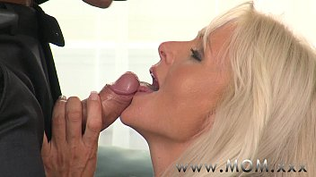 MOM Blonde MILF gets fucked hard thumbnail