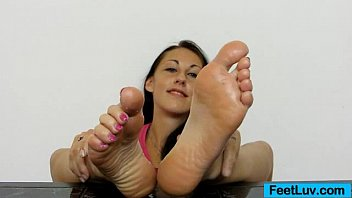 Claire sexy Teen babe claire shows off her sexy bare feet