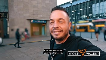 Naughty AnastasiaXXX gets well-deserved facial from stranger! ▁▃▅▆ WOLF WAGNER LOVE ▆▅▃▁ wolfwagner.love
