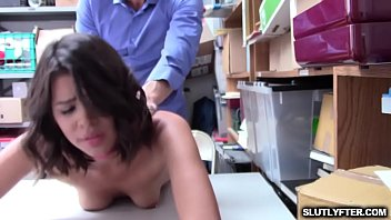 Horny hot babe Kat Arina wants it large for her wet pussy
