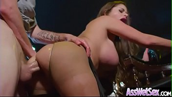 (Cathy Heaven) Slut Girl With Big Ass Love Hard Anal Sex Action clip-19