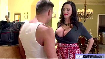 Wife With Big Hot Sexy Tis Get Banged Hard Style clip-04