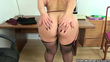 Streaming Video Britain's finest mature secretaries Louise and Leia - XLXX.video