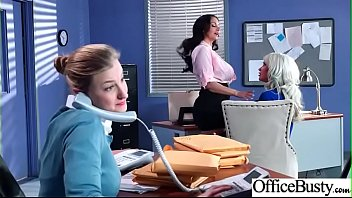 Hard Sex Tape In Office With Big Round Tits Sexy Girl (Ava Addams & Riley Jenner) video-04
