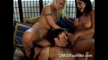 3 way squirting orgy