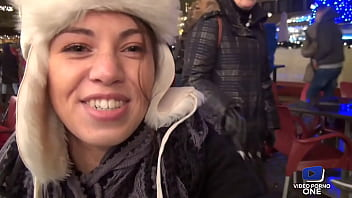In Budapest, Tiffany finds Lexie, another French, for a lesbian fuck 15 min