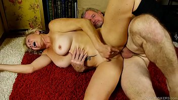 Sexy blonde old spunker is a super hot fuck and loves facials